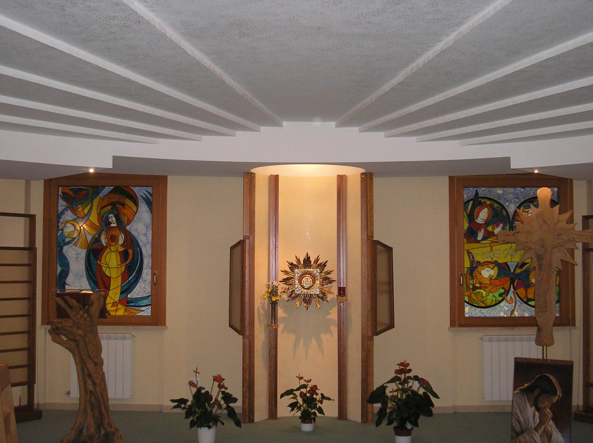 Cappella di Casa Betania - Presbiterio