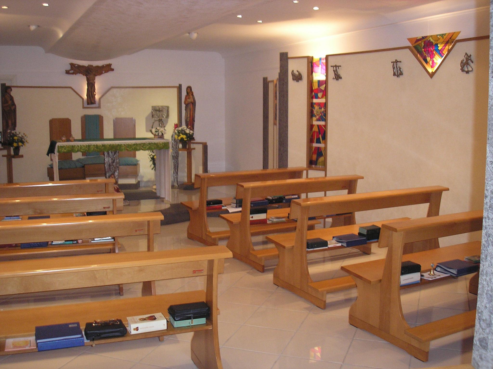 Cappella Casa Nazareth - Interno